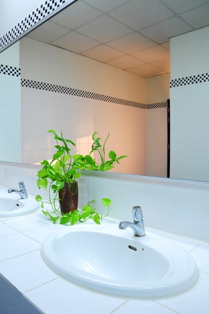 Bathroom at office Stock Photo - 8627430