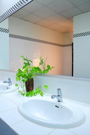 Bathroom at office Stock Photo - 8627430