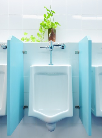 urinals at office Stock Photo - 8627427