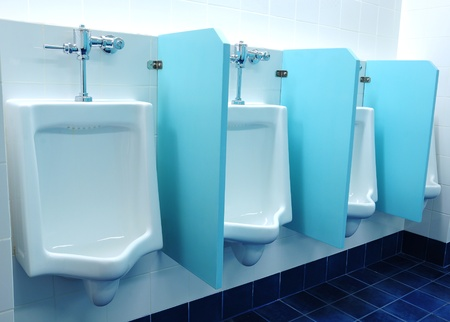 urinal: urinals at office