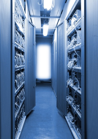 The communication and internet network server Stock Photo - 8671283