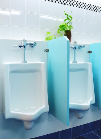 urinals at office Stock Photo - 8671277