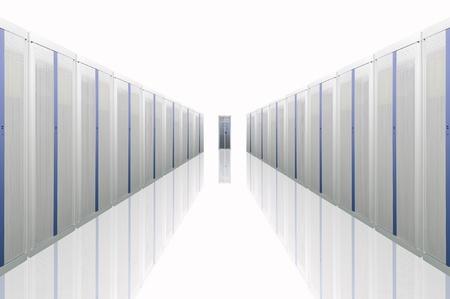 rechenzentrum: Der Kommunikation und Internet-Netzwerk-server Lizenzfreie Bilder