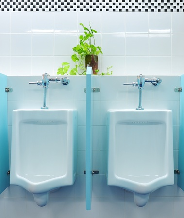 urinals at office Stock Photo - 8671285