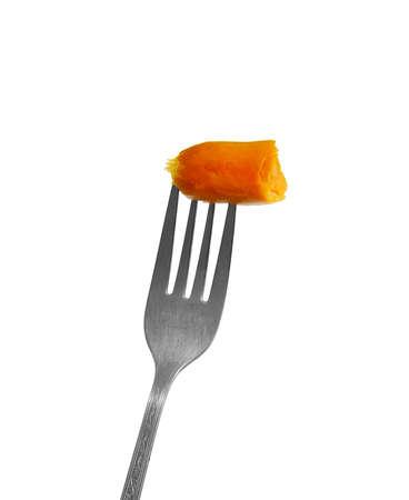 nicked: Salchicha mellas en tenedor de viejo
