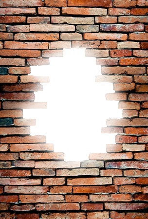 porous wall to see the destination light photo