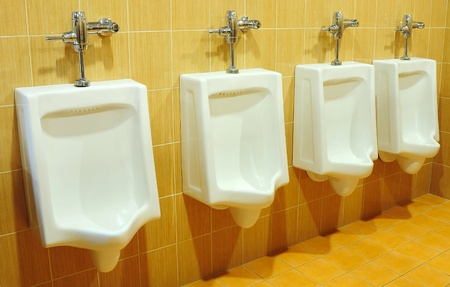 urinals at office Stock Photo - 8896298