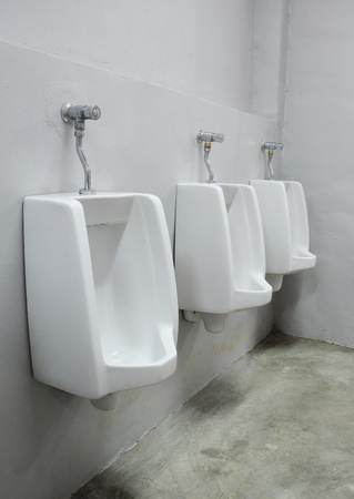 urinals at office Stock Photo - 8957245