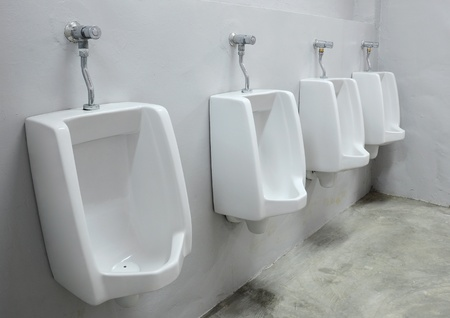 urinals at office Stock Photo - 9019553