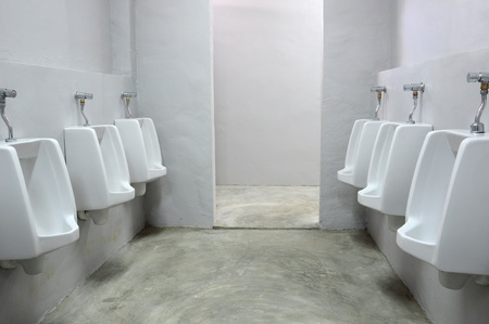 urinals at office Stock Photo - 9019555