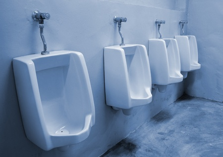 urinals at office photo