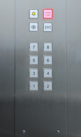 overload alert in elevator Stock Photo - 9132181