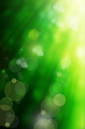 turf: abstract spring green background and light reflect