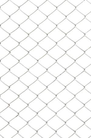 fil de fer: losangées isolées sur fond blanc Banque d'images