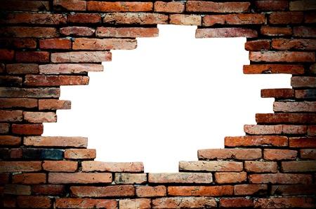porous: porous wall for background Stock Photo