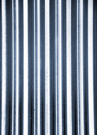 corrugated iron: metal fence background
