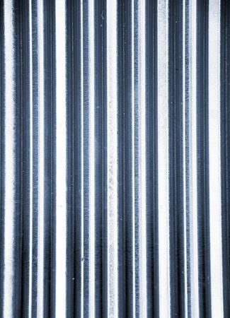 corrugated metal: metal fence background