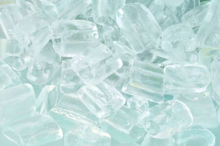 fresh cool ice cube background Stock Photo - 9631156