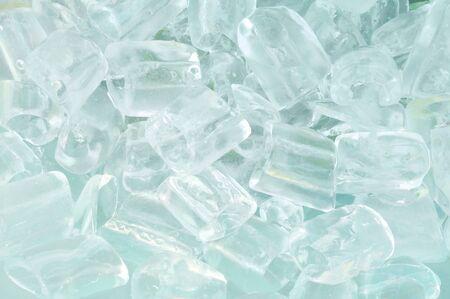 fresh cool ice cube background Stock Photo - 9631156