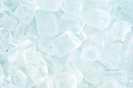 fresh cool ice cube background Stock Photo