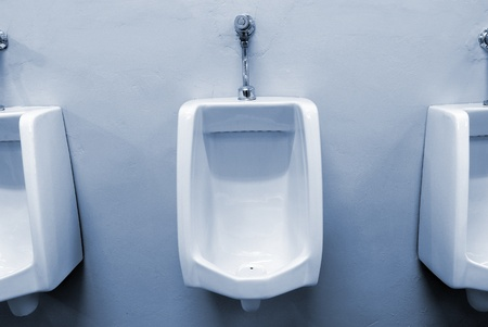 urinals at office Stock Photo - 9671403