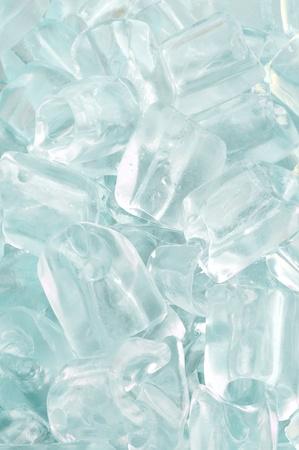 fresh cool ice cube background Stock Photo - 9748838