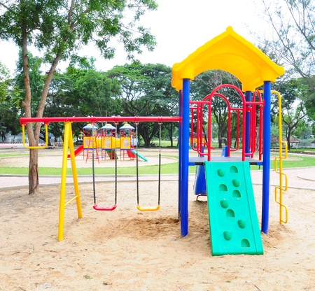Children playground colorful Stock Photo - 9748868