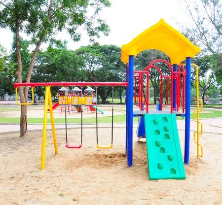 Children playground colorful Stock Photo - 9748868
