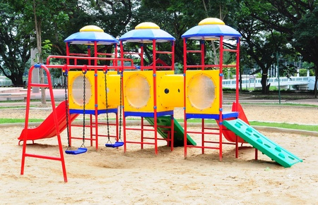Children playground colorful Stock Photo - 9748874