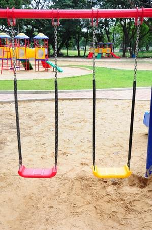 Children playground colorful Stock Photo - 9748877