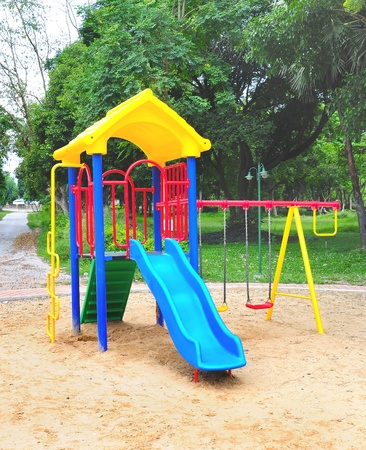 Children playground colorful Stock Photo - 9748876