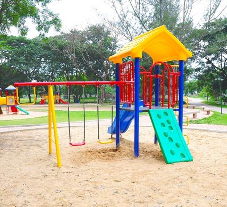 children playground: Children playground colorful