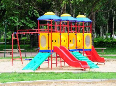 Children playground colorful Stock Photo - 9853704