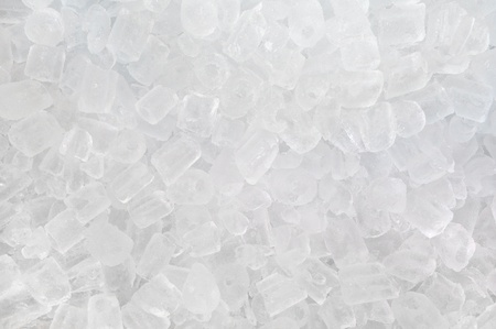 solid blue background: fresh cool ice cube background Stock Photo
