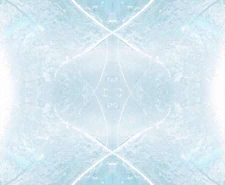 abstract ice cube background photo