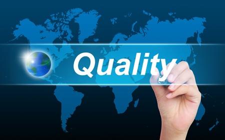 control de calidad: mujeres calidad de escritura a mano