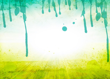 dabs: Abstract watercolor background