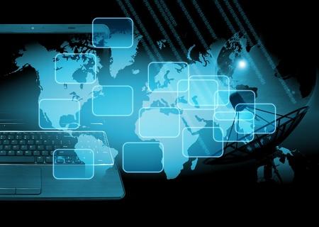 abstrait technologie du monde