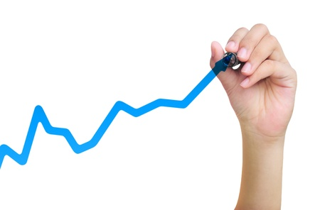 business graph main à tirage