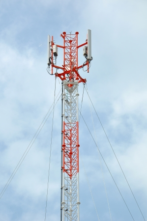 antenna tower of communication Stock Photo - 13731378