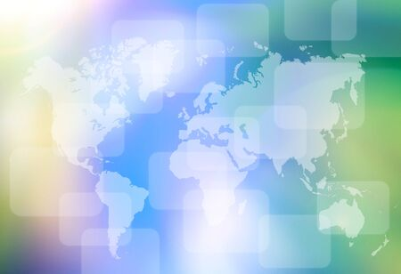 abstract the world technology background photo