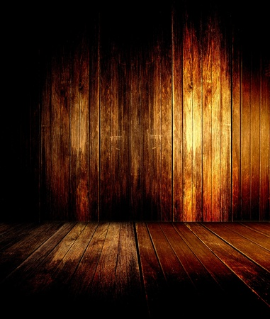 抽象的な背景の古い木製の床