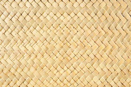 abstract of texture bamboo basket for background photo