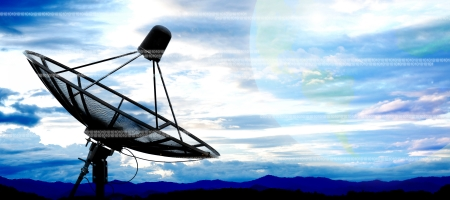 satellite dish antennas photo