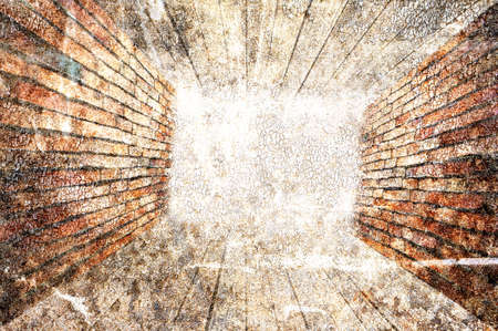 abstract the old grunge wall for background Stock Photo - 23301343