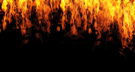 abstract fire flame background Stock Photo