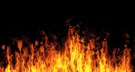 abstract fire flame background Stockfoto