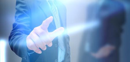 hand of businessman photo