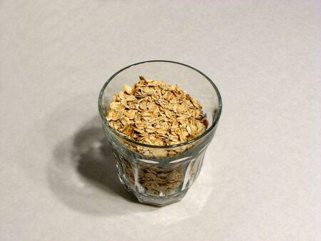 oatmeal: oatmeal in a glass