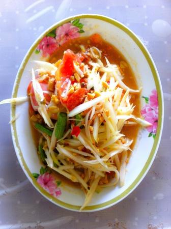 somtum: Somtum,Thai papaya salad